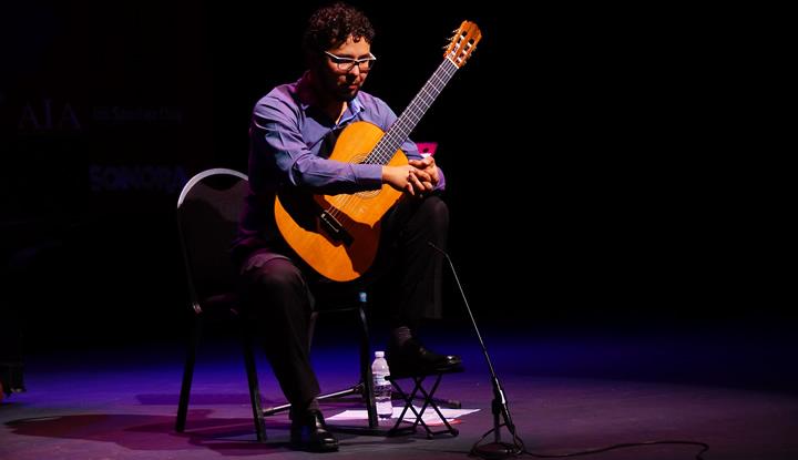 Concierto de Mario Arévalo