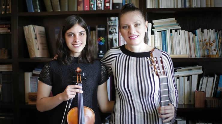 Nadia y Yaroslava